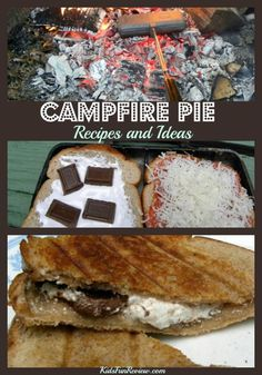 Campfire pie recipes and ideas