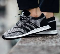 All-new from #Adidas Originals , Los Angeles Core Black/ Reflective primeknit