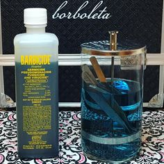 "62 Likes, 7 Comments - Arlena Bui (@happilyeverlashing) on Instagram: ""Make sure your lash artist knows how to correctly #clean their tools. Soaking in #Barbicide is one…"""