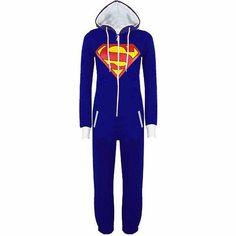 5ca0a822d2e New Unisex Pyjamas Adult Pajamas Onesie Mens women Batman Superman one  piece pajamas Sleepsuit Sleepwear drop