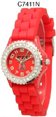 Texas Tech Red Raiders Pink Watch