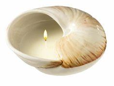Cómo hacer velas votivas en conchas de mar