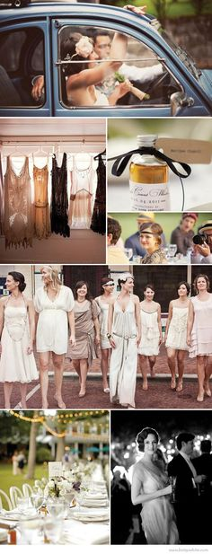 Trendspotting: Great Gatsby-Inspired Weddings | Flights of Fancy.... Oh my word... My mother always said I was meant to be born in this era. No wonder I love this so much!!