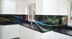 Product Details Videos How To Order Artwork Buy Online Product Details Collections of images printed directly onto the back of toughened glass panel are Splashback, Cribs, Kitchen Remodel, Kitchen Ideas, Kitchens, Printed, Glass, Home, Design
