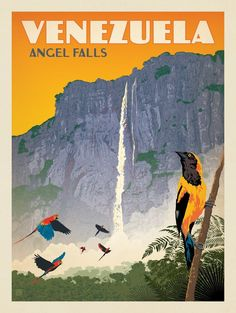 Anderson Design Group – World Travel – Venezuela: Angel Falls