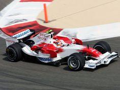 2008 Panasonic Toyota TF108 Timo Glock