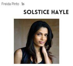Perfect cinder movie cast-- Solstice Hayle