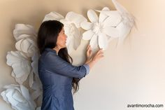 DIY GIant Flower Backdrop