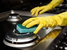 Tips para limpiar estufas con bicarbonato de sodio | Me lo dijo Lola
