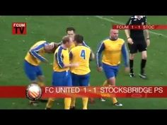 f3ee589b5543 Jamie Vardy goal against FC United of Manchester when he was playing for  Stocksbridge Park in 2009