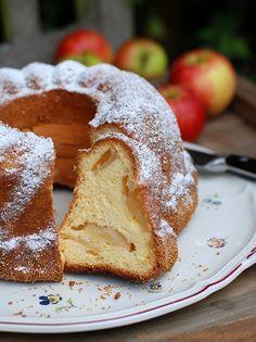 Apfel-Biskuit