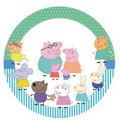 Bolo Da Peppa Pig, Peppa Pig Teddy, Cumple Peppa Pig, 3rd Birthday Parties, Boy Birthday, Aniversario Peppa Pig, George Pig, Pig Party, Kids Rugs