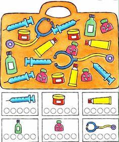 Mini First Aid Kit, Sudoku, People Who Help Us, Community Helpers Preschool, Classroom Organisation, Hygiene, Dramatic Play, Pre School, Preschool Crafts