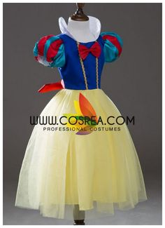 Snow White Children\'s Tulle Cosplay Costume