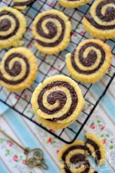 Anyżkowo: Maślane ciasteczka ślimaczki