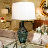 Sapphire Jewel Glass Lamp - Regina Andrew Design