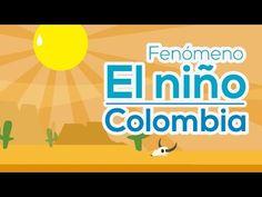 Fenómeno El Niño en Colombia - YouTube