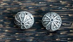 Vintage Filigree Sterling Silver Beads 2 by SmallWorldofTreasure,