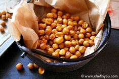 Spicy Roasted Chickpeas Recipe | Indian Chickpeas Recipes. There are many variations too like italian, chinese, and indian!