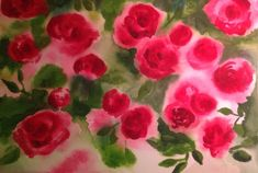 Roses bring such passion . I was inspired by my grandmother for this painting, she loved roses Love Her, Roses, Bring It On, Passion, Inspired, How To Make, Painting, Inspiration, Art