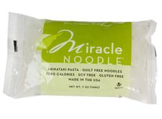 Just found these. Great for paleo or vegan! Miraclenoodle.com