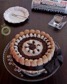 Charlotte cheesecake cioccolato e cocco
