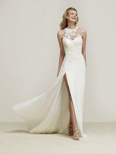Vestido de novia apertura efecto movimiento - Dramis