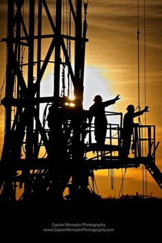 A workover rig and sunset in the Permian Basin. - Oilpro.com