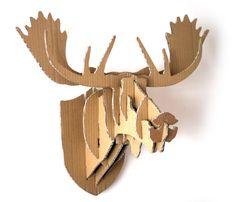 Cardboard Moose Head - Instructables