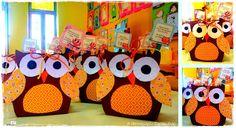 Πρώτη μέρα στο Α΄ Νηπιαγωγείο | Τα Απειρωτάκια Kindergarten Crafts, Back To School Gifts, Welcome Gifts, Owl, Classroom, Blog, School, Class Room, Nursery Crafts