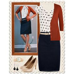 Denim pencil skirt style steal #1 by jamie-burditt on Polyvore featuring polyvore fashion style Etro Wallis Burberry Monsoon Kate Spade Uniqlo
