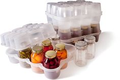 JarBOX.com - Easily Transport and Protect Your Canning Jars... great for people who can and live in earthquake prone areas. keeps all that work safe!