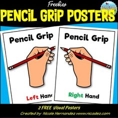 Free Pencil Grip Posters Free Teaching Resources, Teacher Resources, Teacher Tips, Teaching Ideas, Handwriting Without Tears, School Forms, Pencil Grip, First Grade Teachers, Classroom Rules
