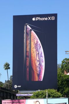 8d8aa59eb4b This fall Apple was flooding the city skyline with bold new billboards for  the release of its iPhone XS and the larger XS Max .