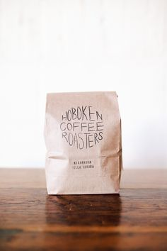 Hoboken Coffee Packaging | Stamped