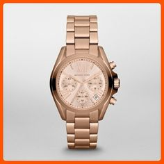 fd7db2e0286 Michael Kors Women s Bradshaw Rose Gold-Tone Watch MK5799 - All about women  (