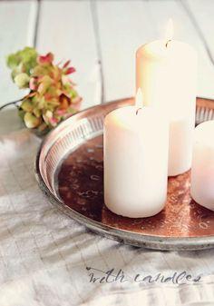 copper and candles http://kotikaupunginlaidalla.blogspot.fi/