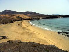 Caleta del Congrio beach. Papagayo. Playa Blanca. Lanzarote.