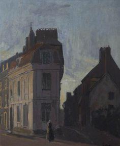Street Scene in Dieppe Walter Richard Sickert (1860–1942)