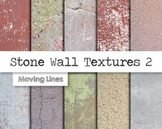 Red Brick Wall Backdrop Grunge Texture Digital by MovingLines