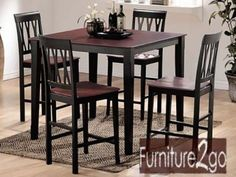 A7002 Promenade Counter Height Table Set