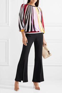 d3072fe7c51c Carolina Herrera - Striped knitted sweater