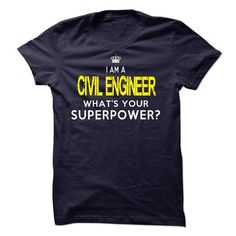 I'm A CIVIL ENGINEER T Shirts, Hoodies. Get it here ==► https://www.sunfrog.com/LifeStyle/Im-AAN-CIVIL-ENGINEER-18516379-Guys.html?57074 $23