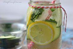 Clear Skin Detox Water Recipe | Budget Savvy Diva
