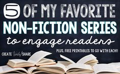 Free - My Favorite Non-Fiction Series - What if I had. Reading Genres, Reading Lessons, Teaching Reading, Guided Reading, Speech Therapy Activities, Teaching Activities, Teaching Ideas, Readers Notebook, Nonfiction Text Features