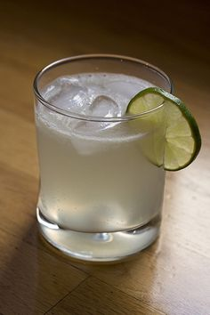 Homemade Mexican Limonada. Be sure to use Key Limes for best results!
