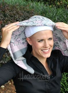 Scarf pad is designed to wear underneath head scarves or headwear to add height and volume for a more flattering appearance. It helps to grip your scarf in place and eliminates slippage as you are tying it. The terry cloth fabric is made of 100% cotton, which absorbs sweat, allowing you to wear your scarves much longer without laundering them. The top of the cap features an air hole for breathability.