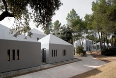 Architects: OAB - Office of Architecture in Barcelona Location: Castellbell i el Vilar, Spain Design Team: Carlos Ferrater, Nuria Ayala Technical. Best Summer Camps, Summer Camps For Kids, Contemporary Architecture, Interior Architecture, Colonial, Barcelona, Interior Decorating, Interior Design, House Styles