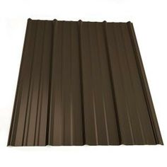 Steel roof panel in burnished slate 2313249 at the home depot 6 panels