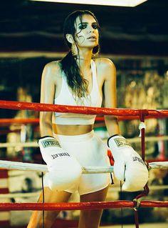 Sweaty Sports Arena Editorials - These Emily Ratajkowski Images for M2 Magazine are Super Sweaty (GALLERY)